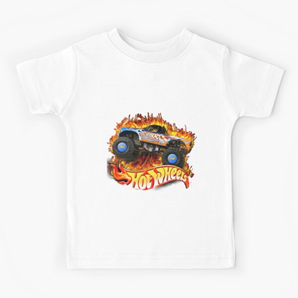 RUEDAS CALIENTES Camiseta para niños