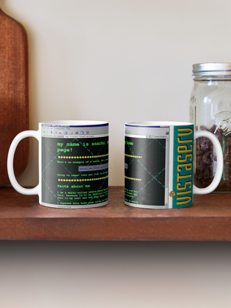 Alternate view of snacks on Vistaserv.net Mug