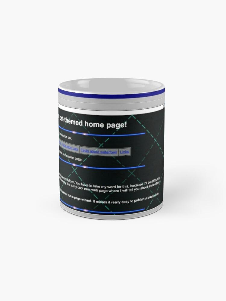 Alternate view of kevin on Vistaserv.net Mug