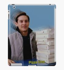 Pizza time! iPad Case/Skin