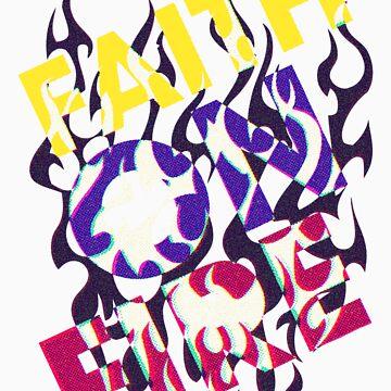 Faith On Fire by CreativoDesign