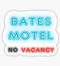 No vacancy Sticker