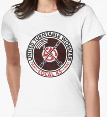 United Turntable Workers - Local 45 Women's Fitted T-Shirt