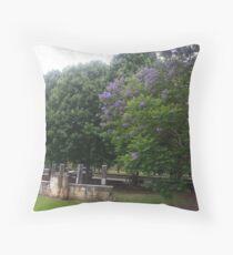 wisemans ferry picnic ground 2 Throw Pillow