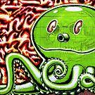 Green Octopus by shutterbug2010