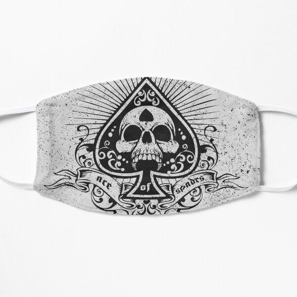 Ace Of Spades (design en détresse) Masque sans plis
