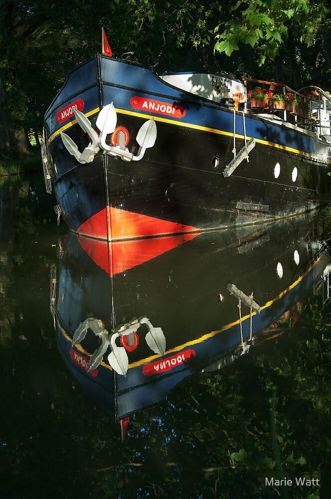 """Anjodi"" Canal du Midi by Marie Watt"