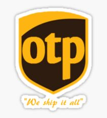 OTP Sticker