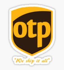 OTP Sticker