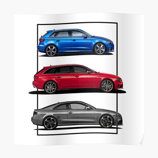 Audi RS Line - RS3 Poster