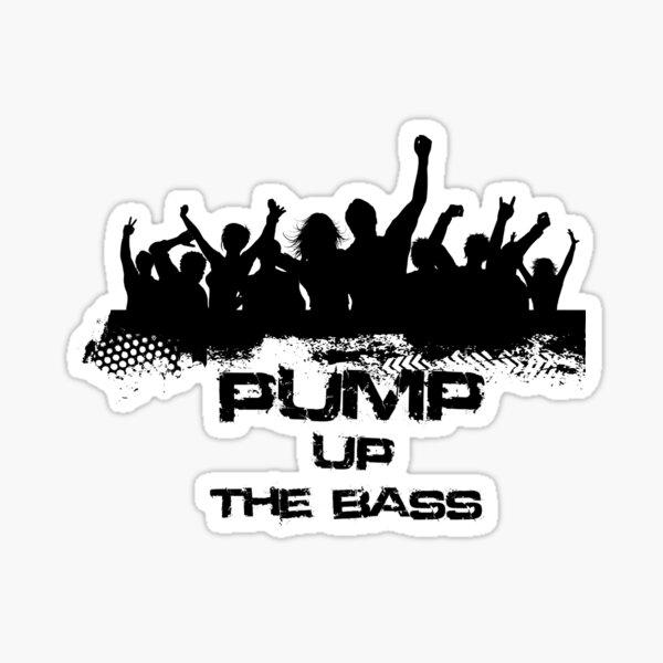 Pump up Sticker