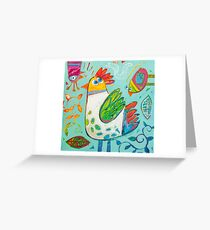 Sweet garden Greeting Card