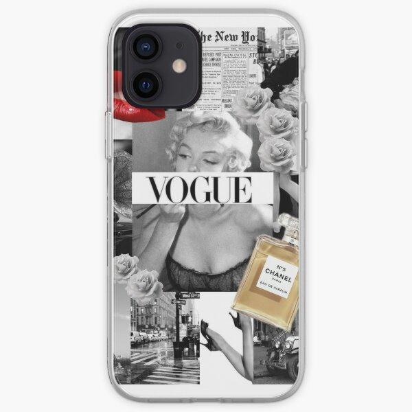 Retro Collage iPhone Soft Case