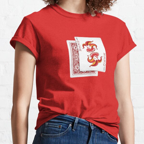 The Smiling  Joker §  For professional cards players  Classic T-Shirt