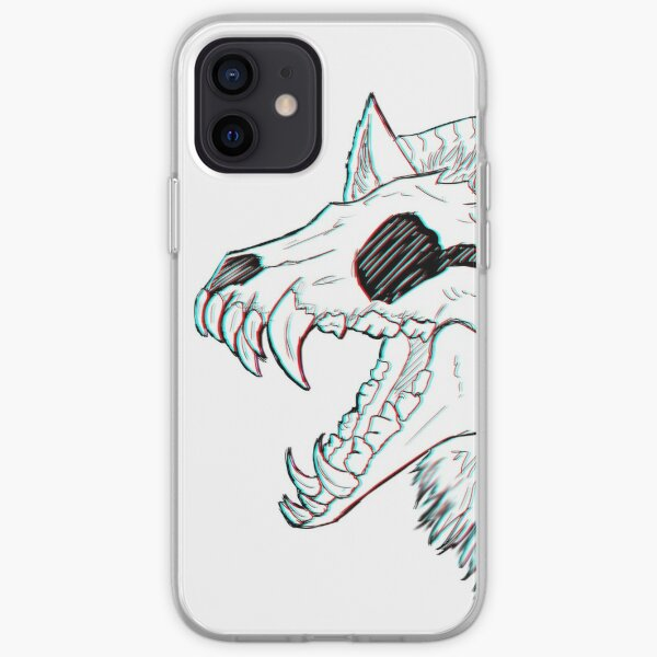 Skull Wolf iPhone Soft Case