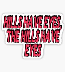 The Weeknd- The Hills Sticker