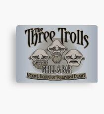 The Three Trolls Canvas Print