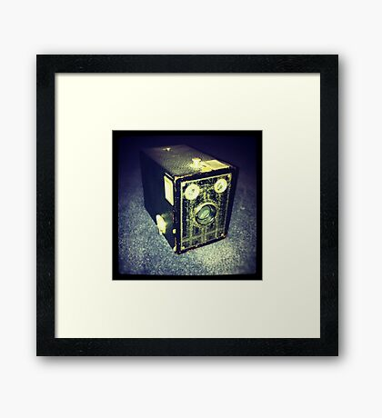 Box Brownie Framed Print