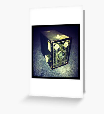 Box Brownie Greeting Card