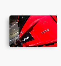 Smart Fortwo mhd Coupe Logo [ Print & iPad / iPod / iPhone Case ] Canvas Print