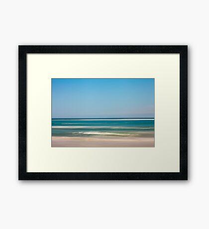 Sunshiny day Framed Print