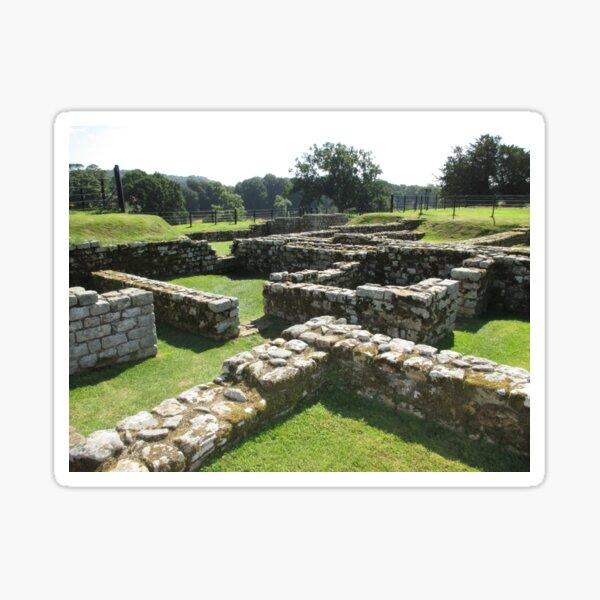 M.I. #83 |☼| Rocks And Bricks - Shot 5 (Hadrian's Wall) Sticker