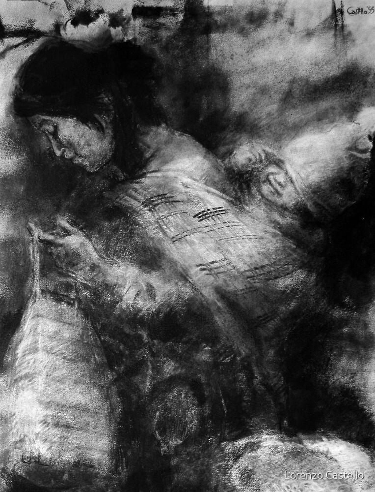 Andino's mother by Lorenzo Castello