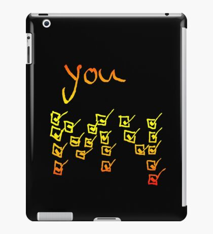 bright boxes iPad Case/Skin