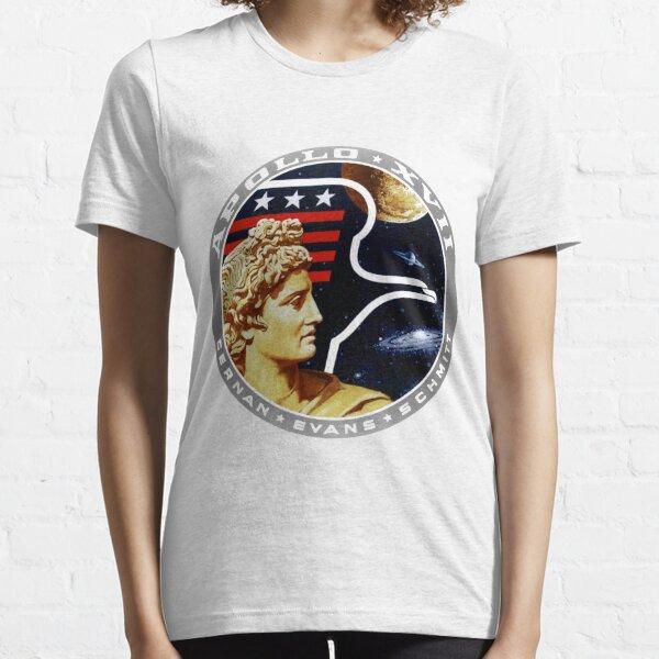 Apollo 17 Mission Logo Essential T-Shirt