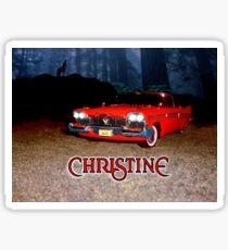 Christine Plymouth Fury 1958  Sticker