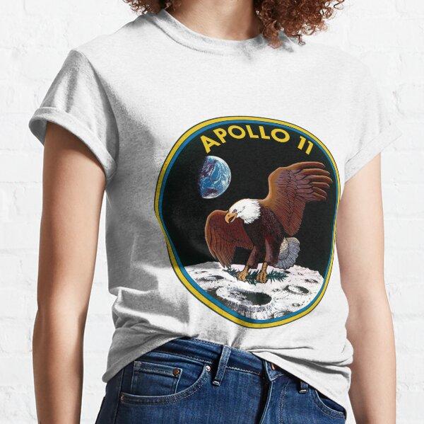 Logotipo de la misión Apolo 11 Camiseta clásica