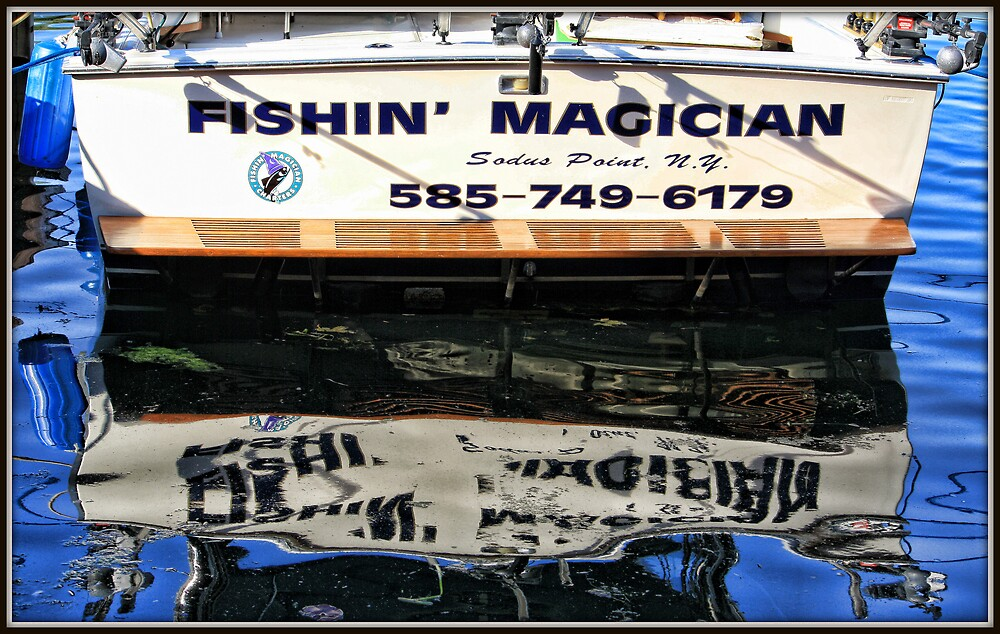 Fishin Magician by Mikell Herrick