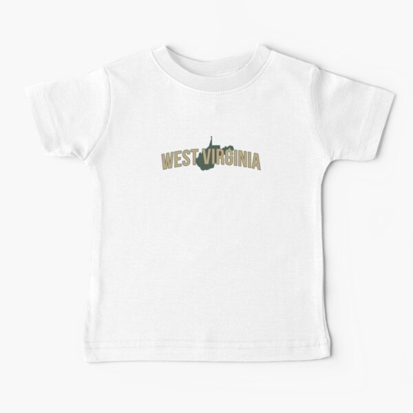 West Virginia State Baby T-Shirt