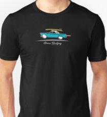 1955 Ford Thunderbird Gone Surfing Unisex T-Shirt
