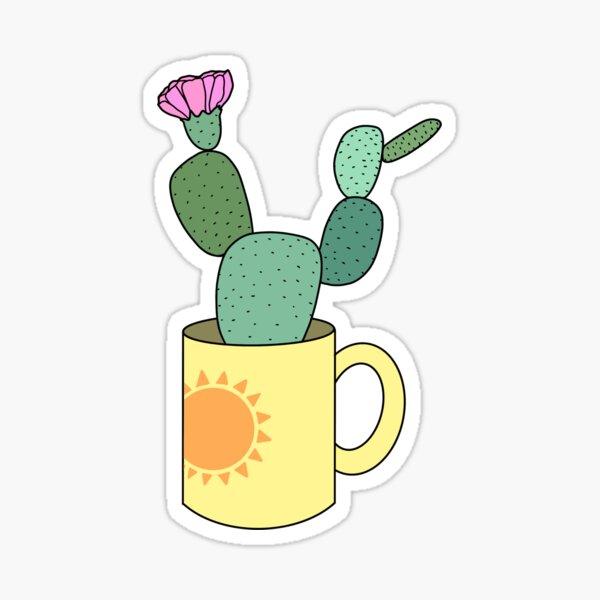 Sunshine Cactus Sticker