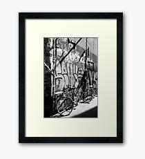 Weed, Hookers & Bikes Framed Print