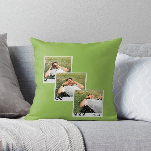 Thomas Doherty Polaroid Throw Pillow