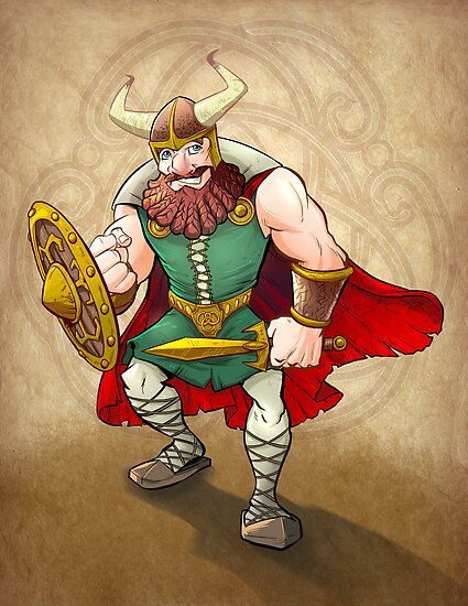 Viking Warrior by Brian Allen