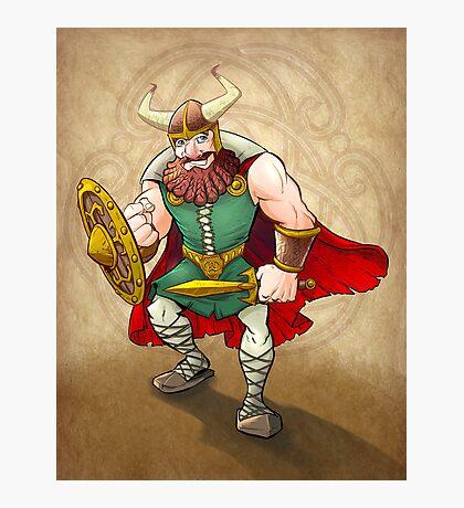 Viking Warrior Photographic Print