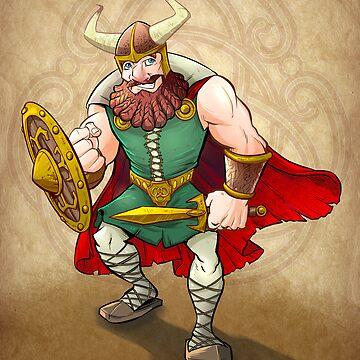 Viking Warrior by flylanddesigns
