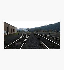 Staying on Track Photographic Print