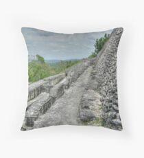 Xunantunich Mayan Ruin in Belize, Central America Throw Pillow
