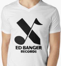 Ed Banger Records - Logo Men's V-Neck T-Shirt