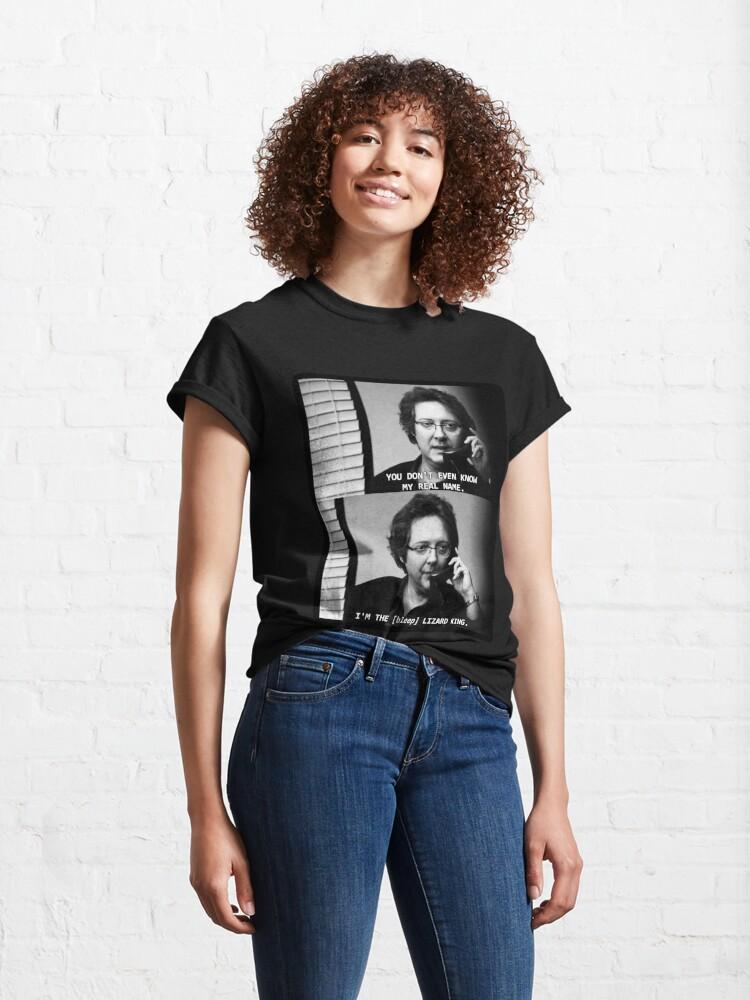 Alternate view of Robert California Lizard King Classic T-Shirt