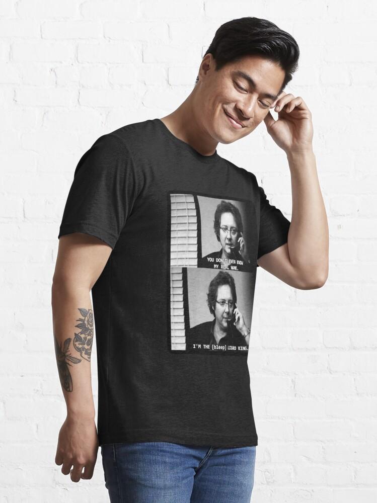 Alternate view of Robert California Lizard King Essential T-Shirt