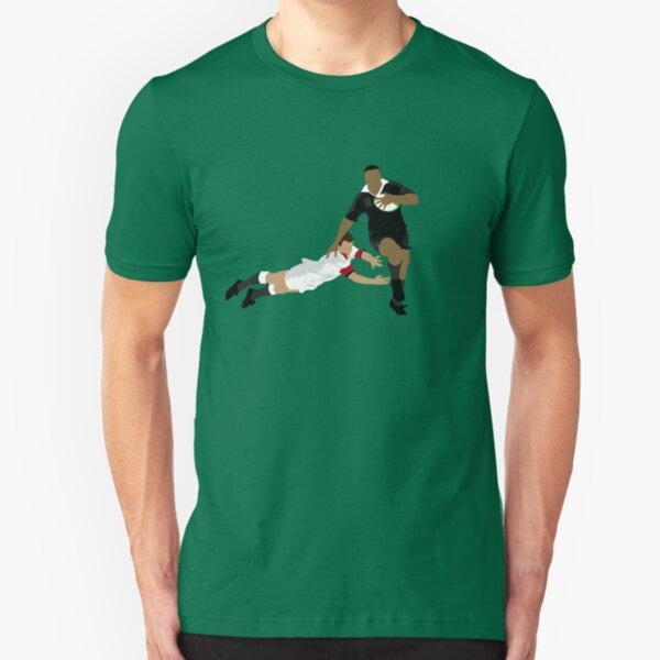 Jonah Lomu (1975-2015) Slim Fit T-Shirt