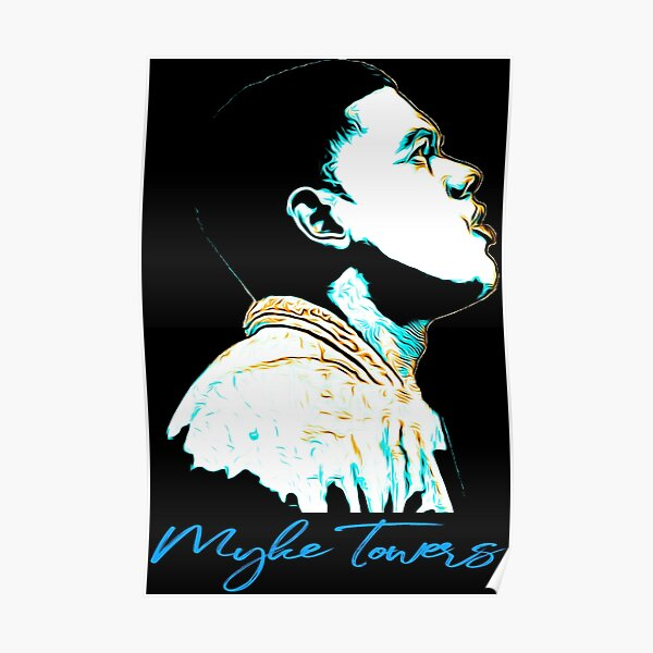 Myke Towers Poster