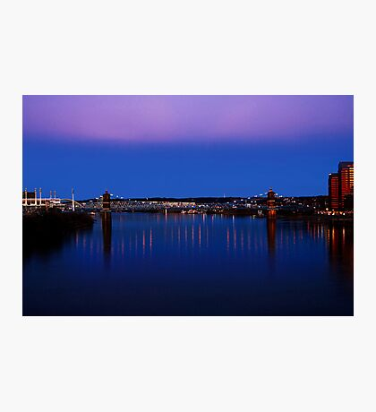 Roebling Connecting Two Cities Photographic Print