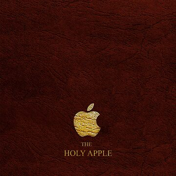 The Holy Apple - Red by pimeto