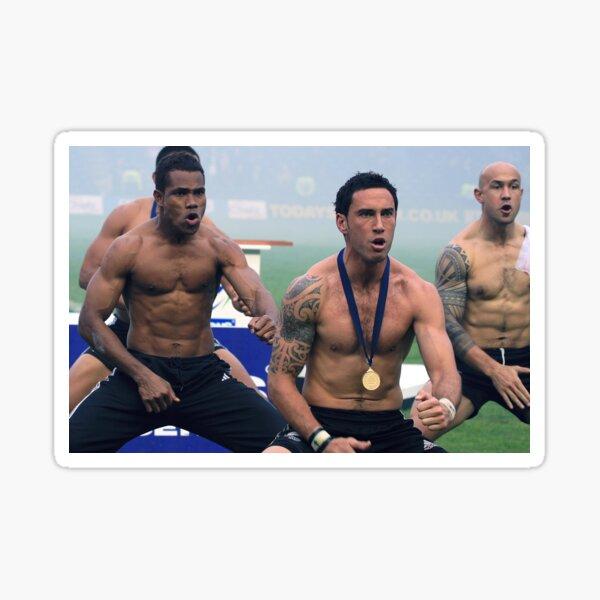 Rugby Haka Sticker